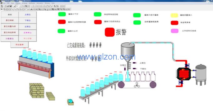 基于PLC的自动灌装机系统设计