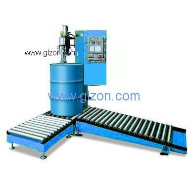 200L液体灌装机研发及其产品应用
